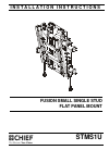 CHIEF STMS1U Racks & Stands Manual (12 pages)