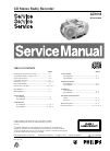 Philips AZ1018 Radio Manual (34 pages)