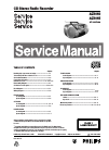 Philips AZ1065 Radio Manual (37 pages)