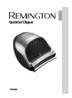 Remington HC4250 Hair Clipper Manual (144 pages)