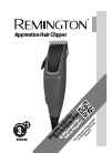 Remington HC5018 Hair Clipper Manual (8 pages)