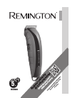 Remington HC5880 Hair Clipper Manual (9 pages)