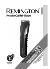 Remington HC5900 Hair Clipper Manual (12 pages)
