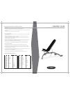 Matrix MX-FW80 Home Gym Manual (2 pages)