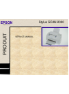 Epson Stylus Scan 2000 Printer Manual (264 pages)