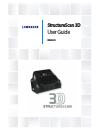 Lowrance StructureScan 3D Fish Finder Manual (16 pages)