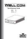 Chauvet WELL COM DJ Equipment Manual (16 pages)