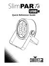 Chauvet SlimPAR T6 USB DJ Equipment Manual (60 pages)