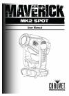 Chauvet Maverick MKII Spot DJ Equipment Manual (37 pages)