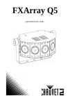 Chauvet FXarray Q5 DJ Equipment Manual (48 pages)