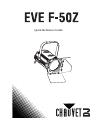 Chauvet EVE E-50Z DJ Equipment Manual (36 pages)