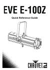 Chauvet EVE E-100Z DJ Equipment Manual (26 pages)