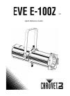 Chauvet EVE E-100Z DJ Equipment Manual (28 pages)