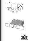 Chauvet EPIX Drive 2000 IP DJ Equipment Manual (68 pages)