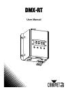 Chauvet DMX-RT DJ Equipment Manual (15 pages)