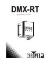 Chauvet DMX-RT DJ Equipment Manual (36 pages)