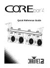 Chauvet COREbar 4 DJ Equipment Manual (52 pages)