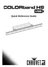 Chauvet COLORBAND H9 USB DJ Equipment Manual (52 pages)