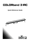 Chauvet COLORband 3 IRC DJ Equipment Manual (80 pages)