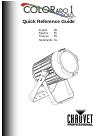 Chauvet COLORado 1 Solo DJ Equipment Manual (56 pages)