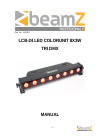Beamz LCB-24 DJ Equipment Manual (8 pages)