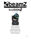 Beamz illusion 2 DJ Equipment Manual (40 pages)