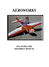 AeroWorks EXTRA 330L Toy Manual (16 pages)