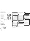 Philips SCF718 Microwave Oven Manual (7 pages)